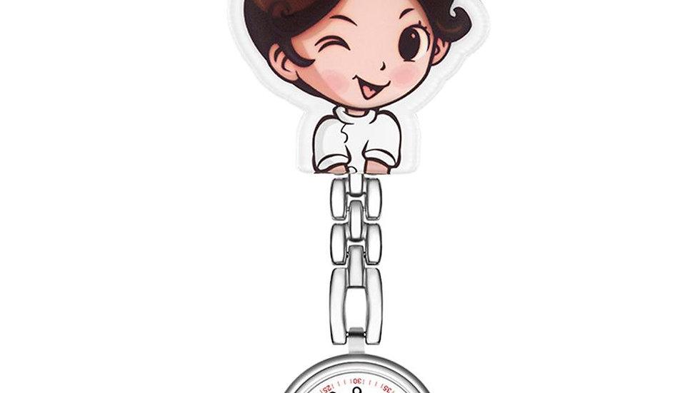 Waterproof Mini Student Girl Hanging Watch FOB Nurse Doctor Watch