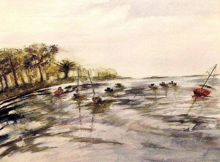 Marée basse