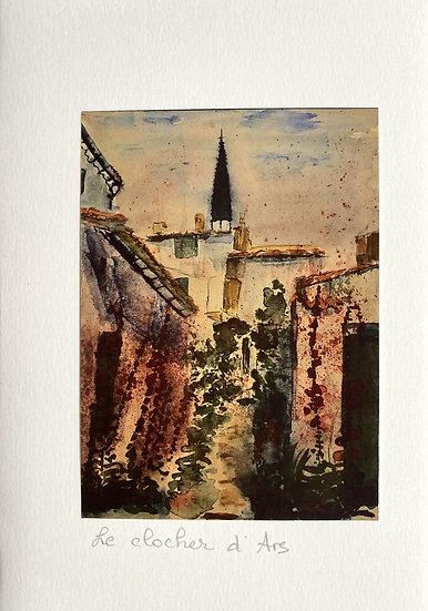 Le clocher d'Ars