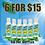 Pure Sun 2oz. Hand Sanitizer 6 bottles for $15