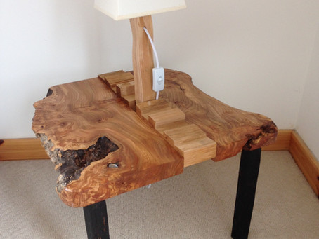 Bedside tables with a difference!