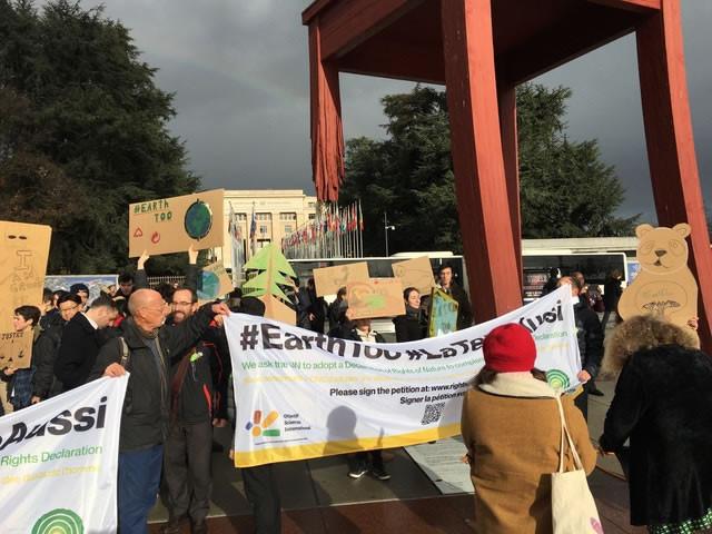 #EarthToo march Geneva