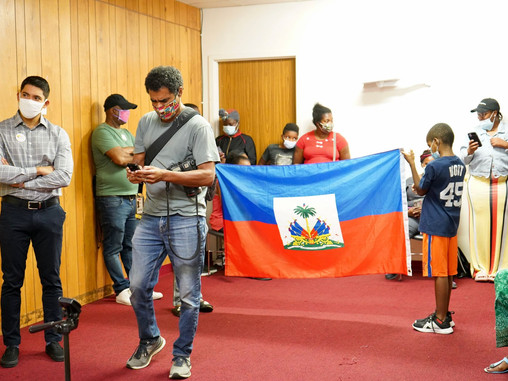Haitian advocacy group calls for action as refugees arrive in Rhode Island