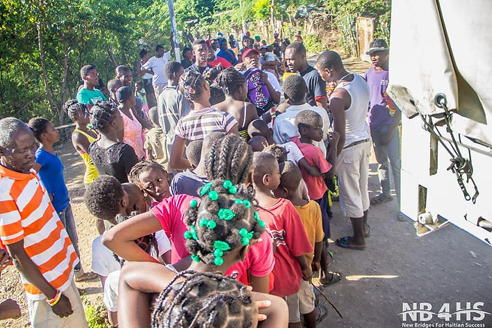 New Bridges for Haitian Success Inc. provides medical supplies to the people of Belle-Anse