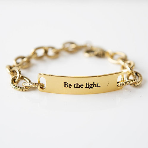 Be the Light - Queen - Link Bracelet