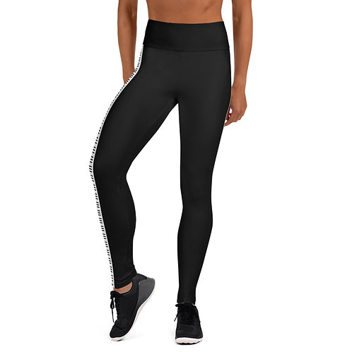 #BeLove Yoga Leggings - Exclusive Black