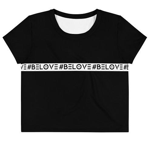 #BeLove CropTop - Exclusive Black