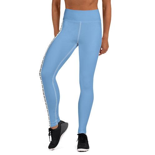 #BeLove Yoga Leggings - Signature Blue