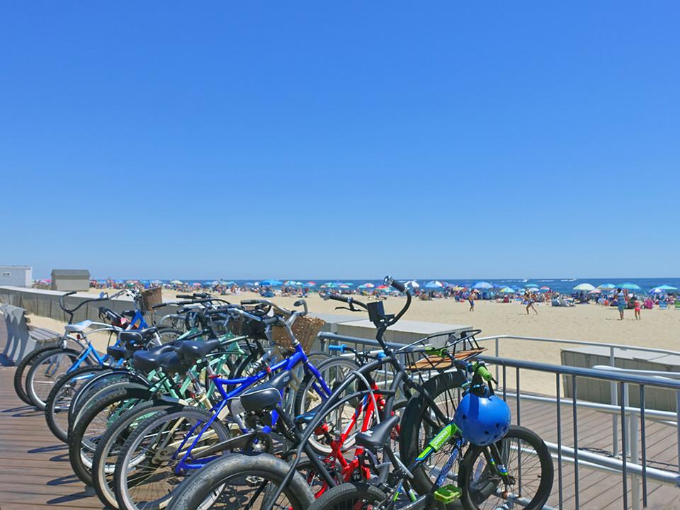 Bike Racks Belmar NJ Beach