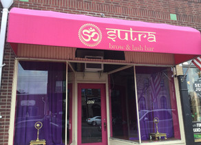 Getting In Shape At Sutra Brow & Lash Bar
