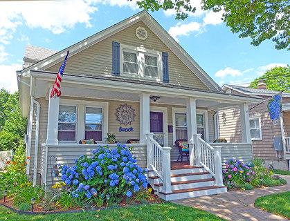 Blue Hydrangea Cottage Rental - Belmar NJ