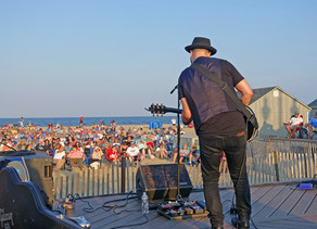"""CANCELED: """"Songwriters On The Beach"""" Summer ConcertsIn Belmar"""