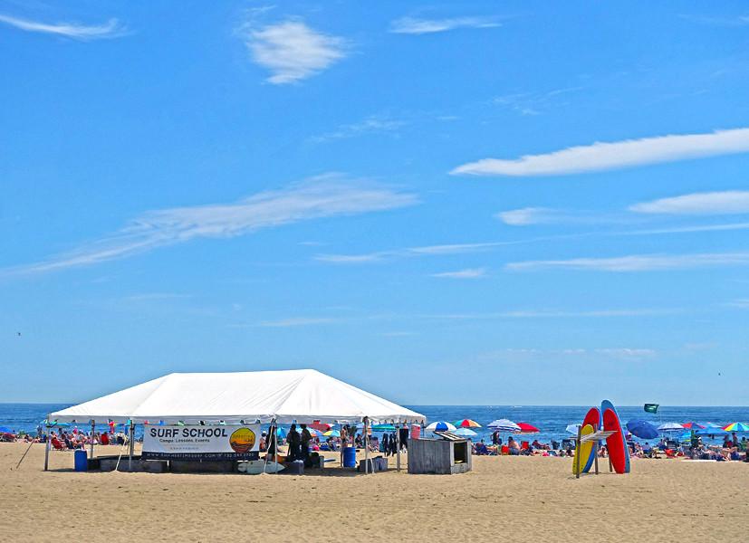 Summertime Surfing Camps - Belmar, NJ