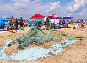 CANCELED: Belmar Tourism Presents The New Jersey Sandcastle Contest