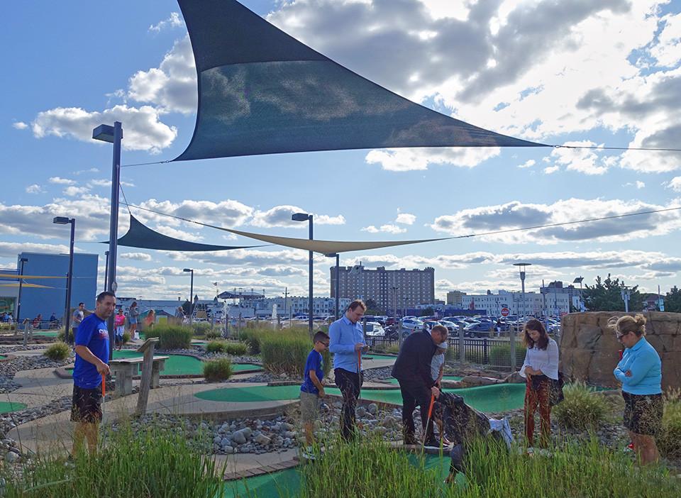 Asbury Eighteen Miniature Golf Asbury Park Boardwalk
