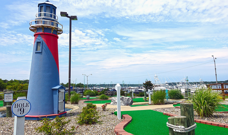 Miniature Golf At Belmar Marina