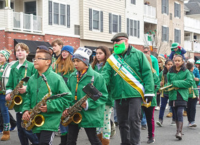 Pipe Bands, Festive Floats And More At The Belmar St. Patrick's Day Parade