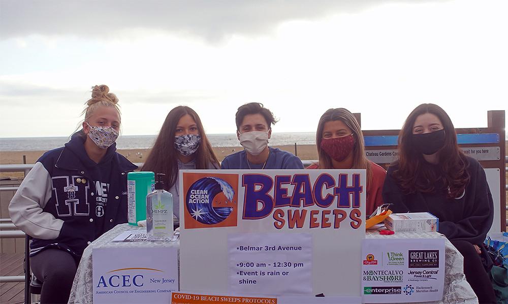 NJ Beach Sweeps Volunteers