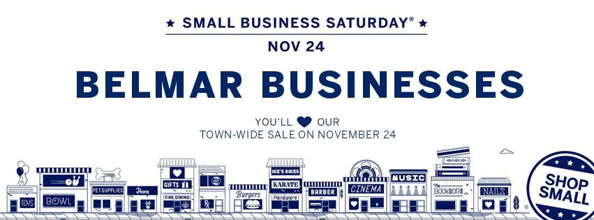 Small Business Saturday Sale in Belmar, NJ