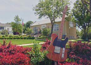 Grab A Selfie At The Giant Bruce Springsteen Guitar In Belmar