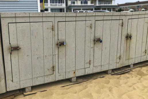 Beach Locker Storage