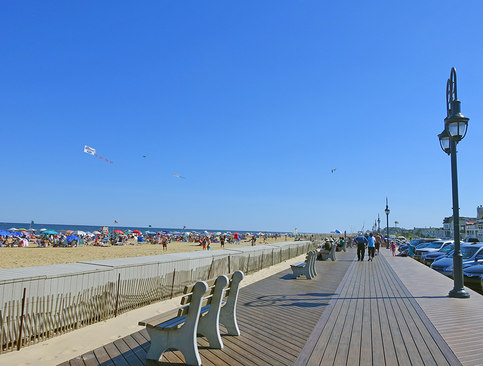 Belmar Beach And Boardwalk