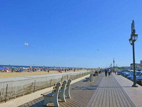 Belmar Beach And Boardwalk