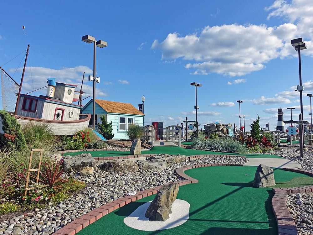 Shipwreck Island Miniature Golf Bradley Beach NJ