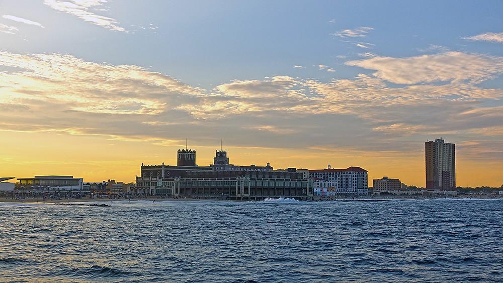 Sunset Cruise Asbury Park Boardwalk