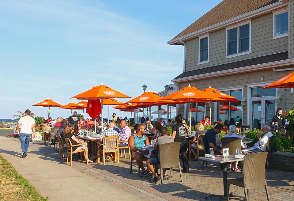 Outdoor dining Belmar NJ