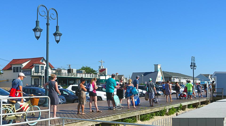 Belmar NJ Beach Tag Sales
