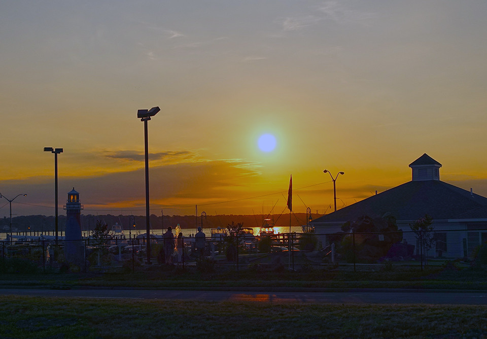 Sunset View Ragin' Cajun Belmar NJ
