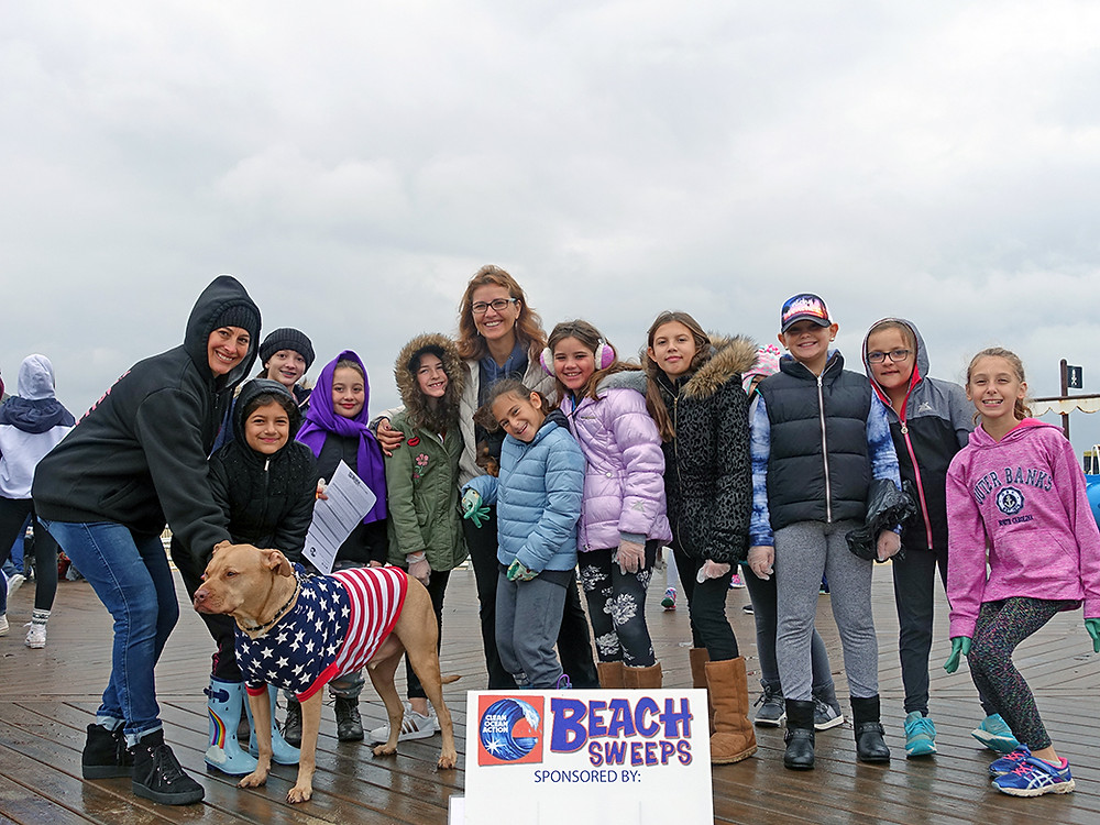 Belmar NJ Beach Sweeps
