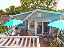 Belmar Vacation Rentals Outside Dining