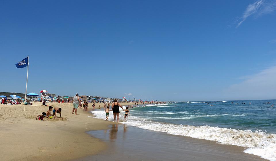 Belmar NJ Beach
