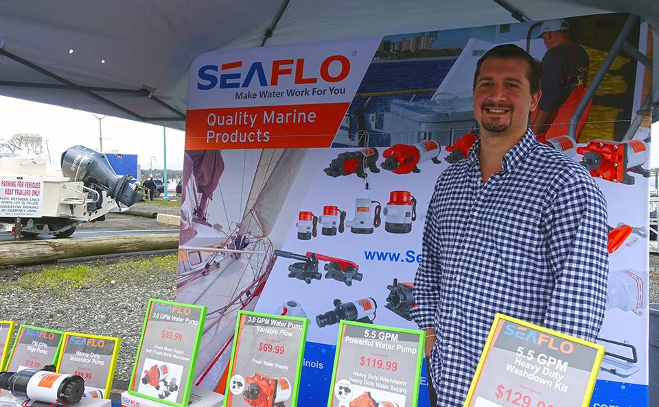 Vendor Market At Belmar Boat Show