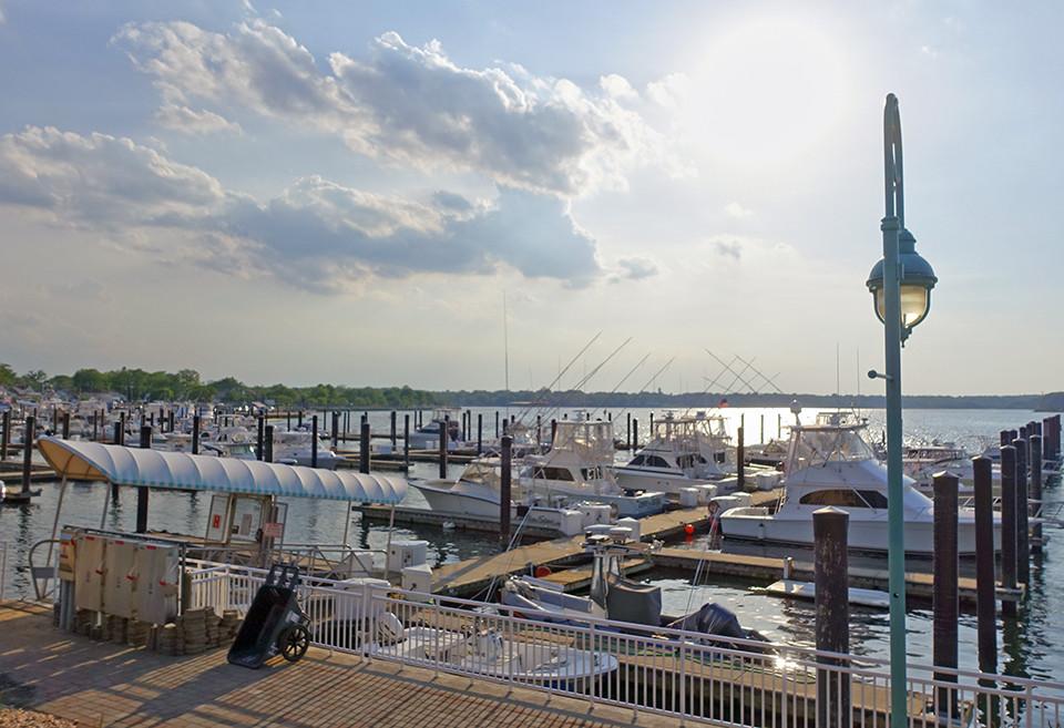 The Belmar Marina is hosting the annual Belmar Boat Show.