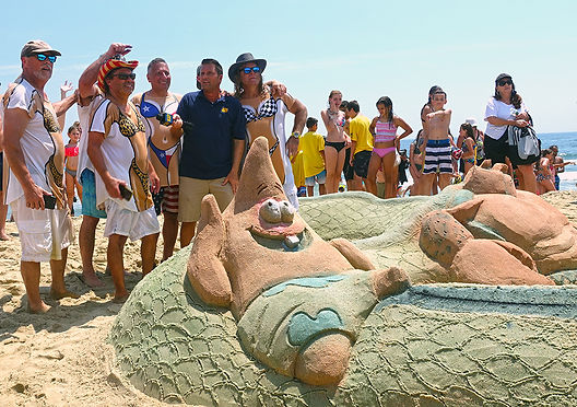 Sandcastle Contest Belmar NJ