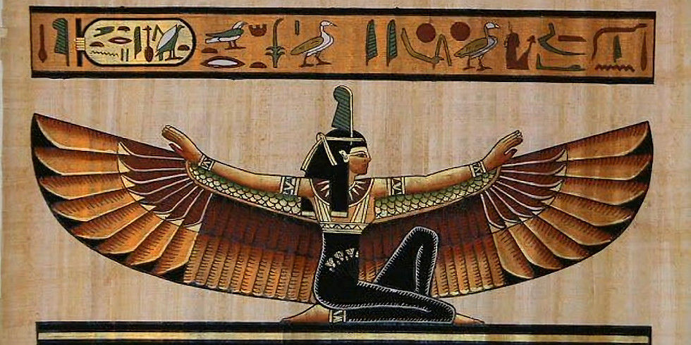 Womb Yoga: Egyptian Practices & Postures Honoring the Divine Feminine