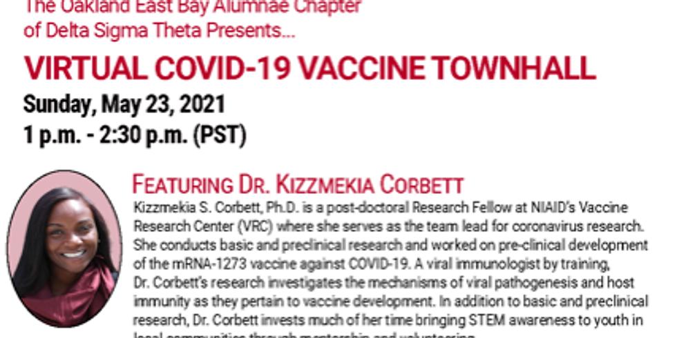 COVID Vaccine Town Hall - OEBAC