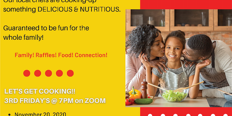 VIRTUAL COOKING CLASSES FOR THE FAMILY