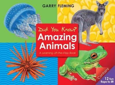 Amazing animals lift the flap book.