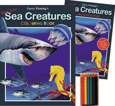 Sea creatures activity pack