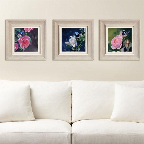 Set of 3 framed Canvas prints