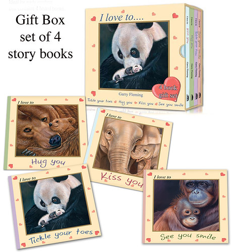 Love to gift box set of books Free post Aust wide