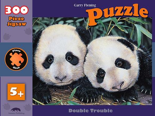 double trouble- Panda cubs- 300 piece puzzle.