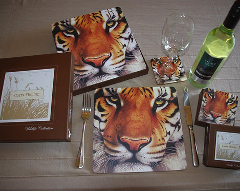 Tiger placemats
