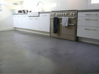 Curing Polished Concrete Floors