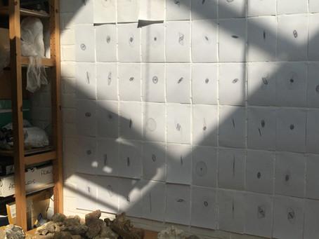 SR: My harmonograph wall