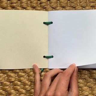 Completed sketchbook